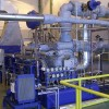 tandem steam turbine with controlled extraction